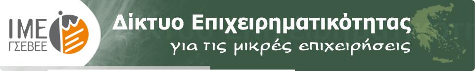 Δίκτυο Επιχειρηματικότητας ΙΜΕ ΓΣΕΒΕΕ